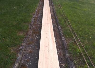 Outdoor Kegelbahn, Kiefe