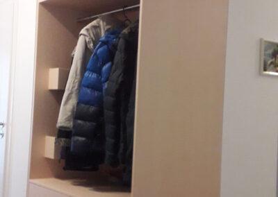 Maßgefertigte Garderobe